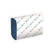 North Shore DublSoft Multifold 1 Ply Blue Hand Towels