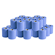 2 Ply Standard Centrefeed Paper Roll (Blue) - 5 Cases