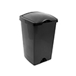 Addis 50 Litre Lift Top Bin (Black)