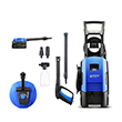 Nilfisk C135.1-6i X-tra Pressure Washer with Mid Patio Cleaner & Rotary Wash Brush