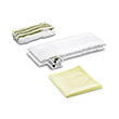 Karcher EasyFix Microfibre Cloth Kit for Bathrooms