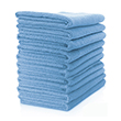 Microfibre Cloth - Lightweight (Blue) Pack of 10