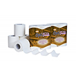 Whisper Gold 3 Ply White Luxury Toilet Roll